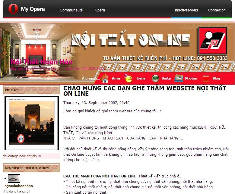 website noi that; thiết kế web doanh nghiệp