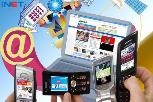 Kinh doanh trực tuyến đang tăng trưởng tốt
