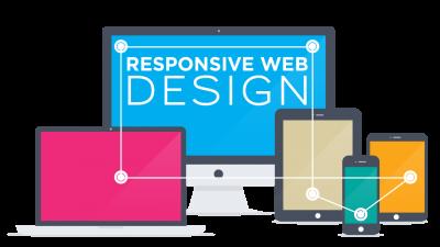 Thiết kế website doanh nghiệp hiển thị trên thiết bị di động.