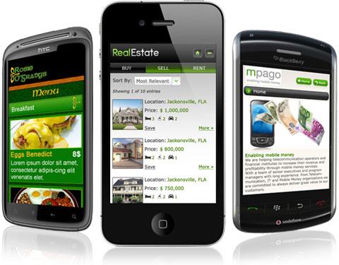 Thiết kế website cho thiết bị di động