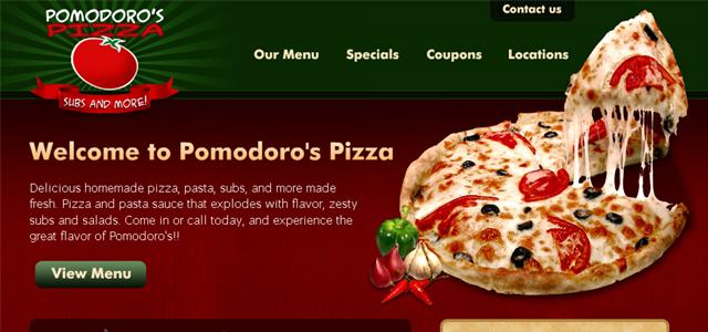 thiết kế website nhà hàng ấn tượng