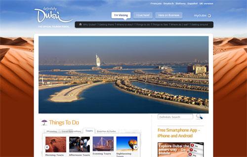 web du lich Definitely Dubai