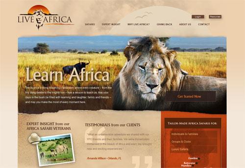 website Live Africa