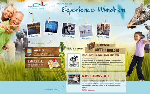 Website du lịch wyndham