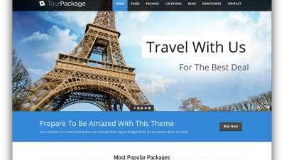 Xu hướng thiết kế website du lịch hiện đại
