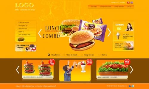 6 bài học về thiết kế website nhà hàng