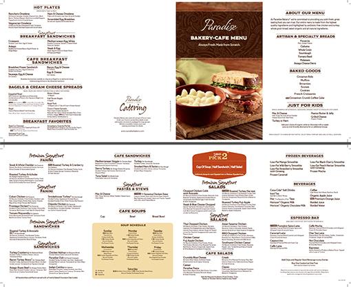 menu website nha hang
