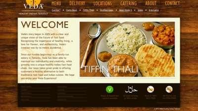 Những website nhà hàng khiến bạn chảy nước miếng.