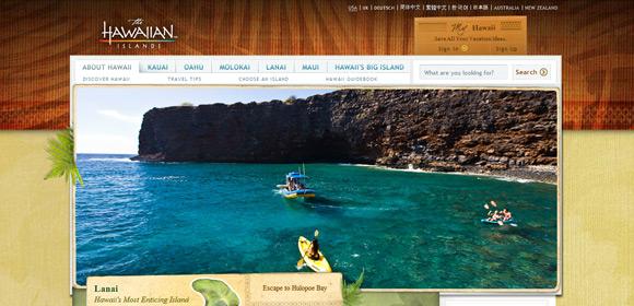 website du lich hawaii tourism