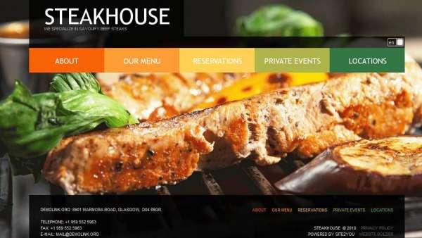 Thiết kế website nhà hàng – Những qui tắc vàng phải nhớ
