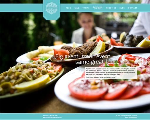 website nha hang culinaria