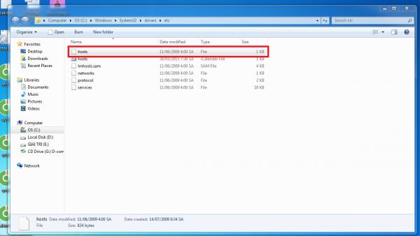 Những tính năng thú vị trong file host