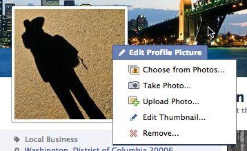 Chỉnh sửa ảnh đại diện facebook
