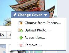 Thay đổi ảnh bìa facebook
