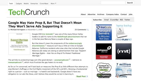 thiet ke web techcrunch