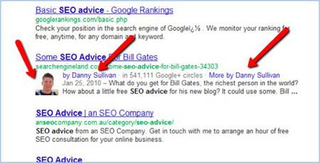Sử dụng Google Authorship