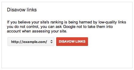 su dung disavow links