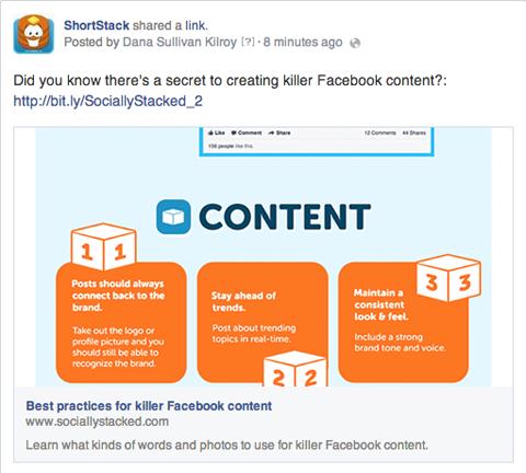 split testing facebook dung bitly