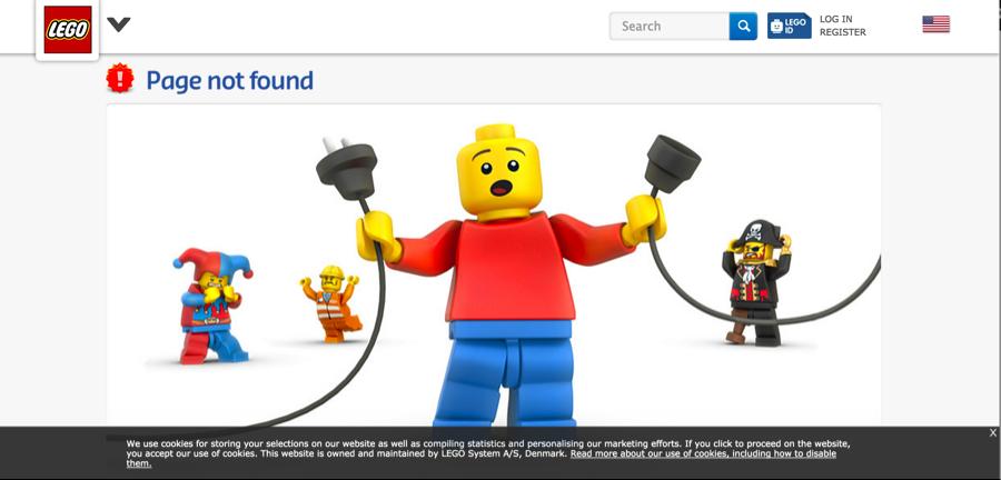 lỗi 404 không tìm thấy trang