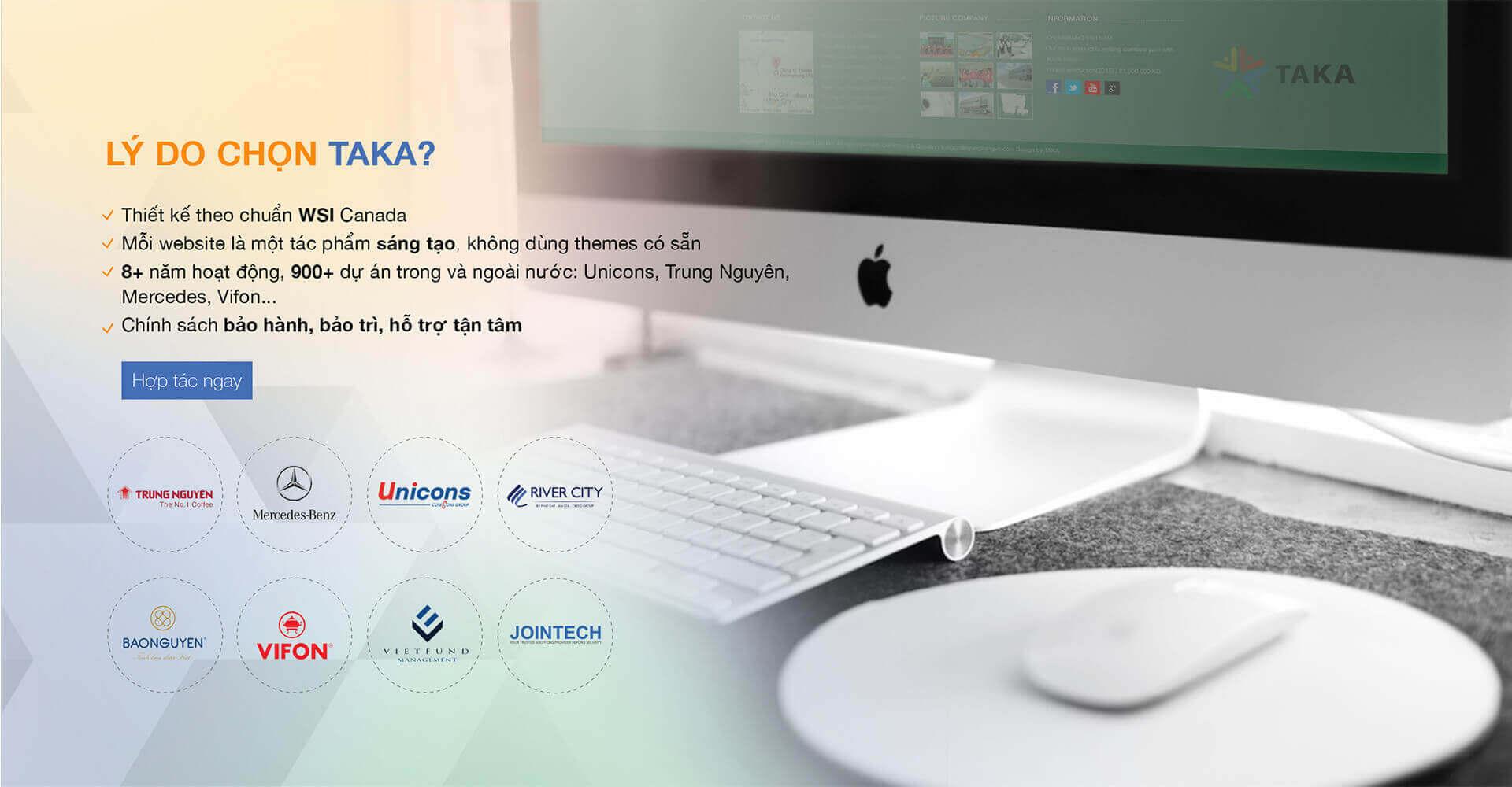 lý do nên chọn taka
