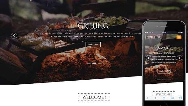 Mẹo để thiết kế một website nhà hàng dễ sử dụng